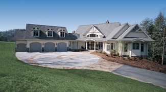 Photo Tour - Donald A. Gardner Architects, Inc. The Crowne ... on small house plans with angled garage, ranch house plans with 3 car garage, ranch home designs floor plans, ranch home with two car garage, ranch homes with walkout basement house plans, house plans with angled attached garage,