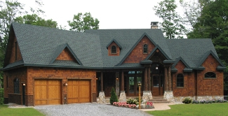 The Harmony Mountain Cottage Gable House Plans First Floor Plan