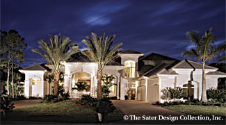 Photo Tour - Sater Design Collection, Inc. The Sterling Oaks House on webber design home floor plans, santa barbara style home floor plans, southern living home floor plans, key west home floor plans, frame home floor plans, dan sater floor plans, eplans home floor plans, self design home floor plans,