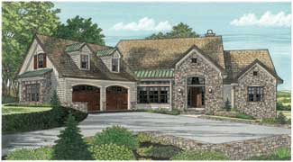 The Laurelwood - Plan #:DDWEBDDDG-5024 - By:Donald A. Gardner Architects, Inc.