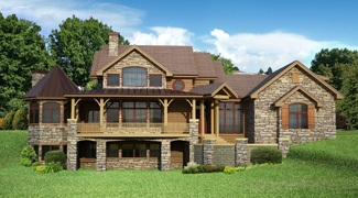 rentfrow designs the tennessee house plan ddwebddrd 1490 rh houseplans designsdirect com house plans with walkout basements on lake house plans with walkout basements in back