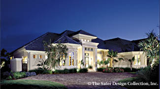 Sater Design Collection, Inc. The St. Regis Grand House Plan DDWEBDDDS 6916 Amazing Design